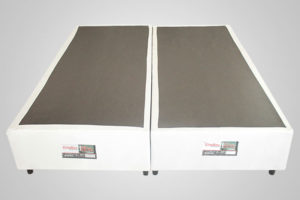 Base Bipartido Queen Corino Branco - Elite - Modelo Simples