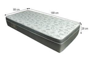 Colchão Solteiro Ortobom - Modelo Iso 100 Ortopillow